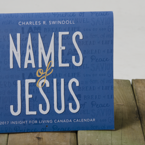 Names of Jesus Calendar