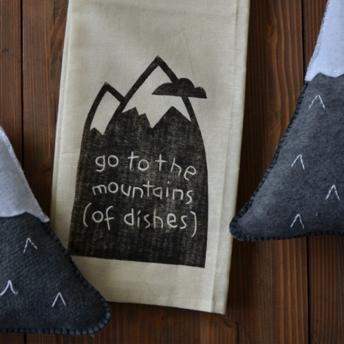 Mountain Tea Towels